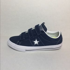 🛍 CONVERSE ONE STAR 3V OX SHOES Navy/White/Black